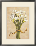 Bouquet Bianco Poster by Lisa Corradini
