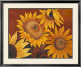 Sunflowers I Print by Vivien Rhyan