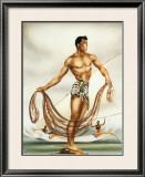 Net Fisherman Framed Giclee Print by  Gill