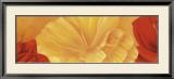 Orange Flower Prints by Erik De André