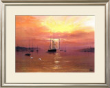 Swans Over Still Waters Prints by Clive Madgwick