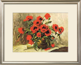 Mohnblumen Prints by E. Kruger