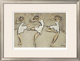 Three Graces Limited Edition Framed Print by Marsha Hammel