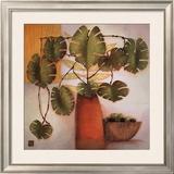 Olive Bowl and Vase Prints by Margaret Hughlock