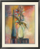 Floral Fantasy II Prints by Sandy Clark