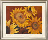 Sunflowers I Prints by Vivien Rhyan