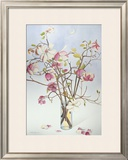 Magnolias and Moon I Prints by Richard Bolingbroke