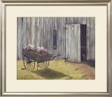 The Flower Cart Prints by Kathleen Green