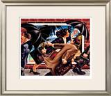 Chasing The Dream Limited Edition Framed Print by Graham Mckean