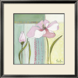 Pink Poppy I Posters by Milena More