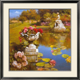 Water Garden II Prints by Spartaco Lombardo