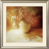 Roses II Prints by Peggy Silbermann