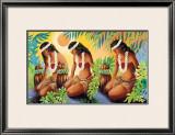The Sun at the Source Framed Giclee Print by Warren Rapozo