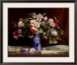 Spring Bouquet Prints by Theresa Pergal