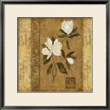 Magnolia Stripe II Prints by Gene Ouimette