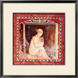 Donna in Contemplazione Print by Francesco D'elia