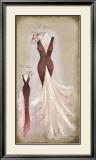 Vestido Granate Prints by Luisa Romero