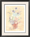 Summer Wildflowers I Print by Nancy Kaestner