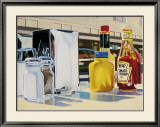 The Diner Prints by Sergio Galli