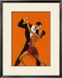 Tango Posters by Aline Bureau