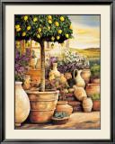 Lemon Topiary Prints by Eduardo Moreau