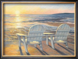 Relaxing Sunset Posters by Lucie Bilodeau