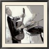 La Guitare Print by Bernard Ott