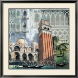 San Marco, Venezia II Prints by John Clarke