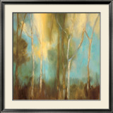 Bare Trees I Print by Kristi Mitchell