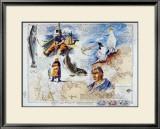 De l'Ile de Batz aux Sept Iles Print by Gildas Flahault