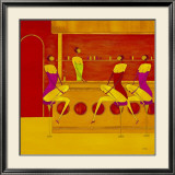 Art Cafe II Prints by Thierry Ona