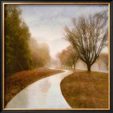 Autumn Path Poster by Sally Wetherby