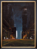 Manhattan by Night Prints by Daniel Castan