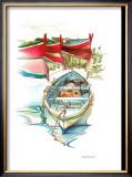 Porto Mediterranio II Print by Daniela Lecchi