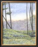 Tranquil Horizon II Art by Virginia A. Roper