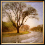 Autumn Road Prints by Sally Wetherby