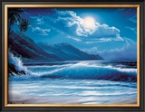 Moonlight Tide Framed Giclee Print by Steve Sundram