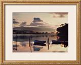 Merimbula Lake at Sunset Prints by Kirsty McLaren