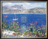 Villefranche Bay Print by T. Forgione