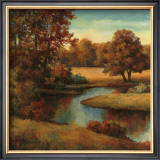 Lakeside Serenity I Prints by T. C. Chiu