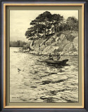 On the River I Posters by Ernest Briggs