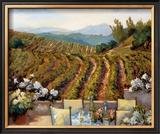 Vineyards to Mount St. Helena Posters by Ellie Freudenstein