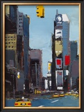 On Broadway Print by Daniel Castan