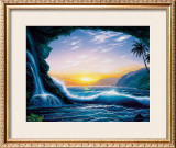 Ocean Dream Framed Giclee Print by Steve Sundram