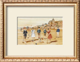 Une Partie de Croquet Posters by Laurence David