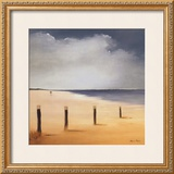 Along the Beach I Posters by Hans Paus