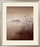 Lakeside Vista II Print by B. Berthet