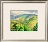 Heavenly Hana Framed Giclee Print by Robert Lee Ederidge