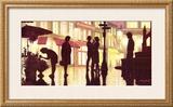 Fleurs et Tango Prints by Denis Nolet