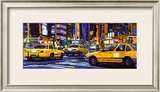 Yellow Cabs, New York City Posters by Roy Avis
